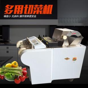 银鹰YQC-QJ660型多用切菜机(烤漆)切肉机电动商用不锈钢切