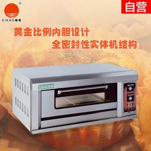 亿高豪华电烤箱单层商用披萨电烤箱大容量焗炉蛋糕面包烘焙烤箱