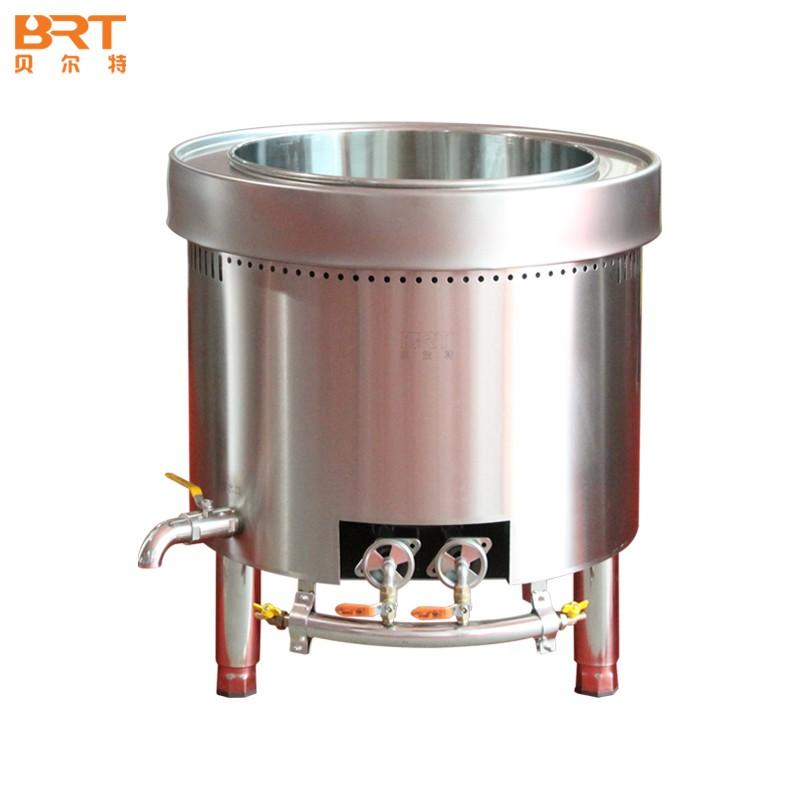 贝尔特60A型燃气汤桶商用带盖不锈钢汤桶加厚大容量汤桶大汤锅储水桶圆桶油桶